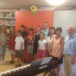 Bärbel Schreiter, Sepp Kittler und die Klavierschüler